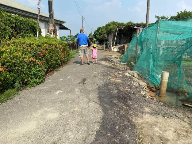 螺鎮鹿場農地重劃區農路老舊破損亟待改善