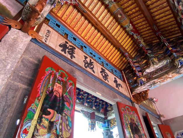 詔安客西螺張廖家廟崇遠堂  豐富的文化歷史及彩繪