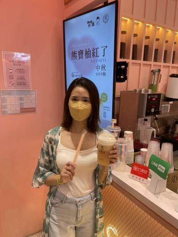 雲林良品文旦、網紅飲品店偕同台灣原創IP聯名開發人氣斗六文旦限定飲飲品