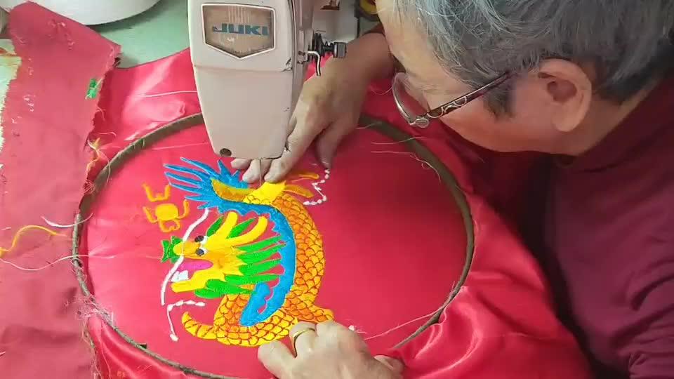 刺繡-謝玉華