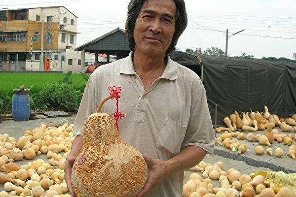 葫蘆雕刻藝術江宗慶老師(共四張)