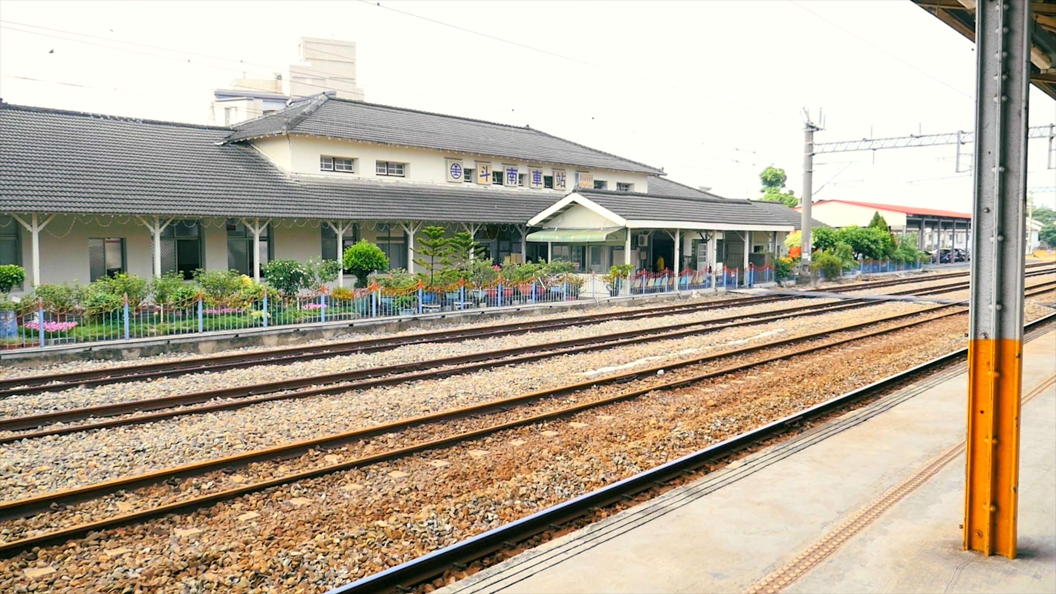 斗南車站鐵軌照