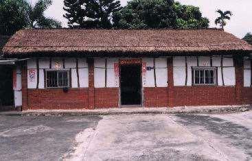 斗南鎮舊社百年茅草屋