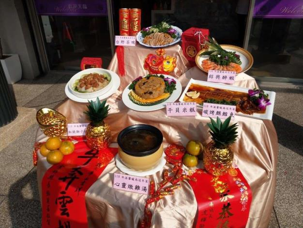 溫馨暖南送年菜活動2