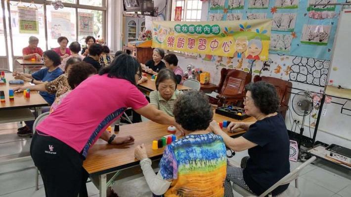 109-06-29 樂齡課程 : 桌遊防失智 (林南活動中心)