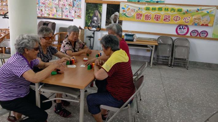 109-07-17 樂齡課程 : 樂齡桌遊防失智 (林中活動中心)