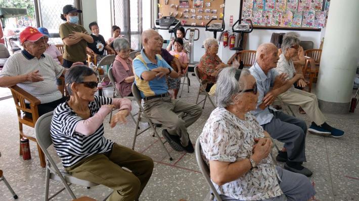 109-07-24 樂齡課程 : 活躍老化律動活力 (林中活動中心)