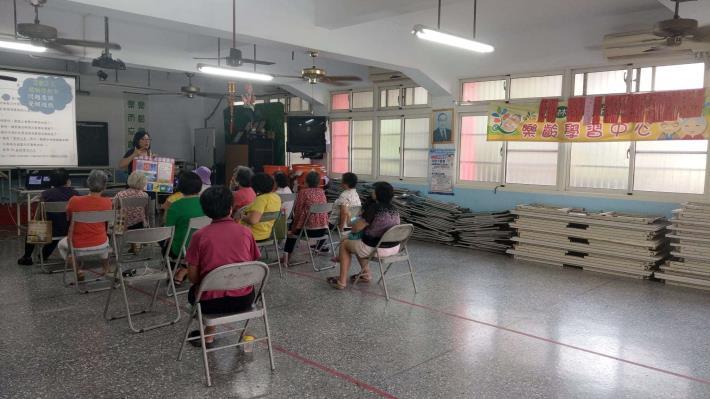 109-09-23 樂齡課程 : 銀髮健康用藥-藥安全(重興村活動中心)