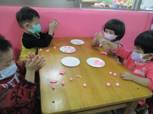 109-12-18 林內鄉立幼兒園 : 冬至節慶教學花絮