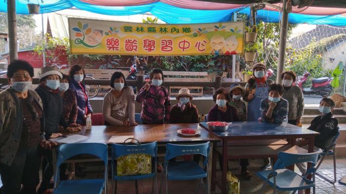 110-01-14  樂齡課程 : 樂齡米製品(水果風味餐)(烏塗活動中心)
