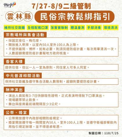 雲林縣民俗宗教鬆綁指引