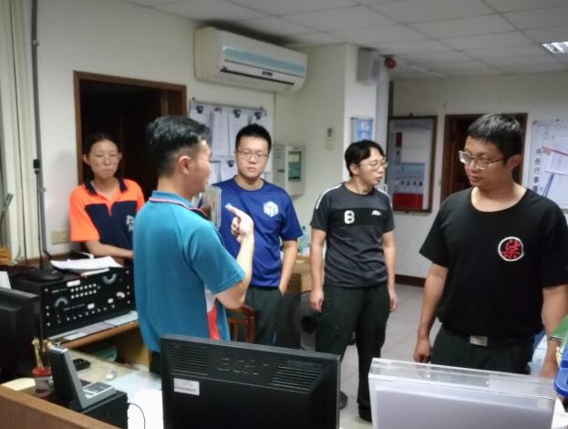 雲林縣消防局第三大隊台西分隊辦理燒燙傷救護訓練-訓練過程