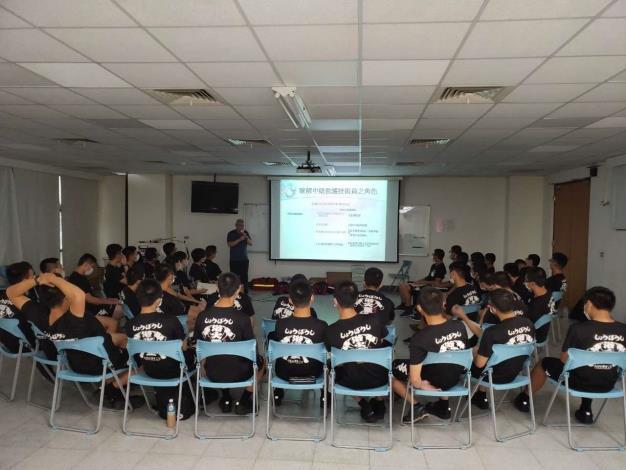 雲林縣消防局協助消防署訓練中心辦理警專38期中級救護技術員初訓-訓練過程