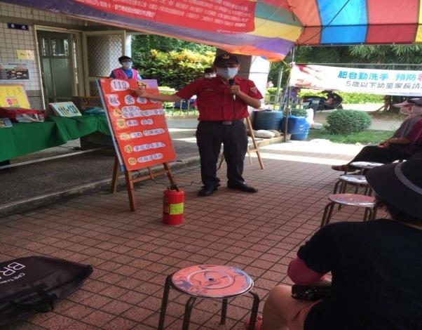 雲林縣消防局第二大隊二崙分隊辦理台北市雲林同鄉會健檢宣導