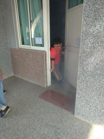 雲林縣消防局第一大隊莿桐分隊辦理莿桐國小消防宣導-避難演練
