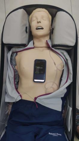 雲林縣消防局第三大隊北港分隊辦理高品質CPR訓練-安妮