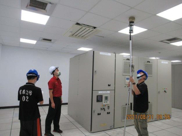 雲林縣消防局第三大隊北五分隊至台塑麥寮鹼廠加強消防安全檢查