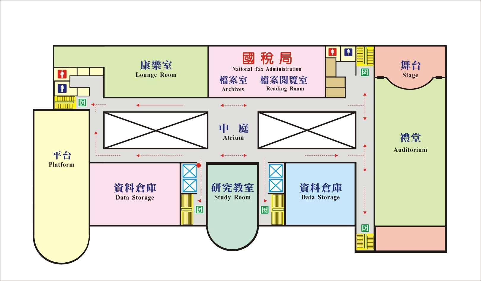 五樓平面圖