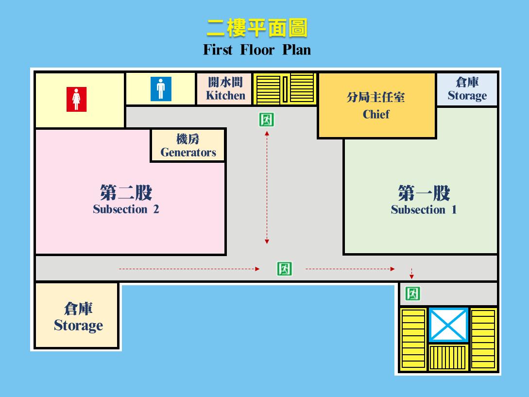 虎尾分局2樓