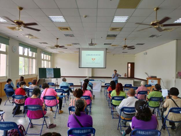 雲林縣109年度志願服務團體督導座談會