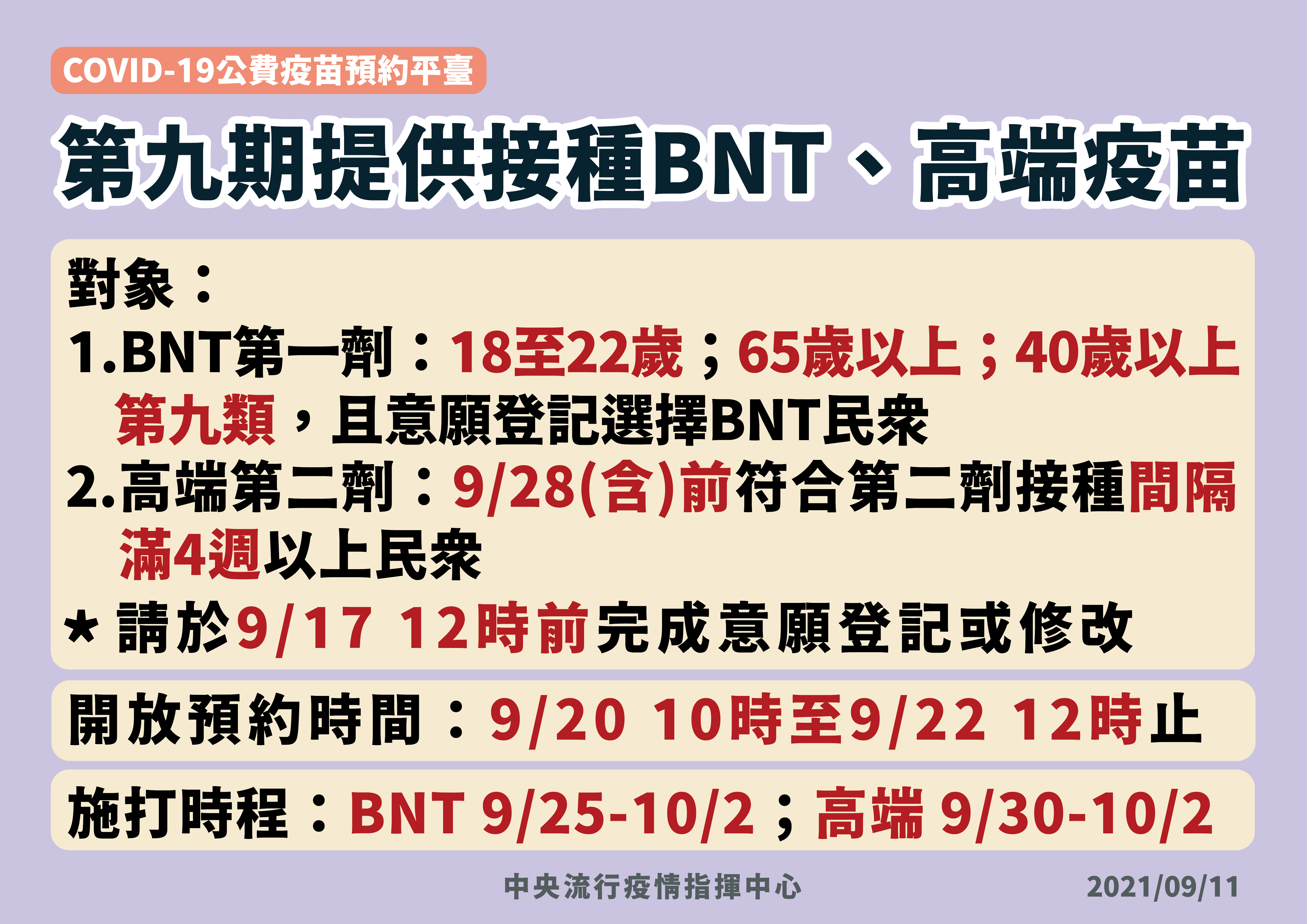 第九期提供BNT第一劑_高端第二劑-01